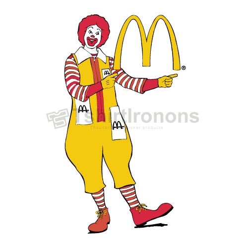 Mcdonalds T-shirts Iron On Transfers N7332